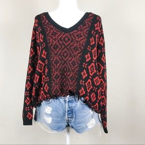 Urban Outfitters Ecote Geo Sweater Size Medium